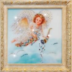 Картина Swarovski Ангел изобилия