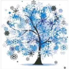 Набор для вышивания Новогоднее дерево
