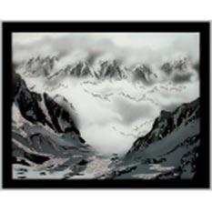 Картина из кристаллов «Горный пейзаж»