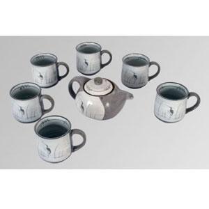 Набор для чая, 10 предметов