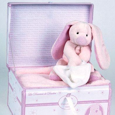 Мягконабивная игрушка Кролик (розовый)