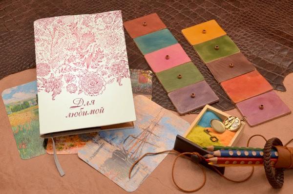 Ежедневник с дарственной надписью Elole Design