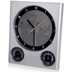 Настенная погодная станция: часы, термометр, гигрометр