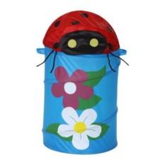 Корзина для игрушек Божья коровка с цветочками HSEN
