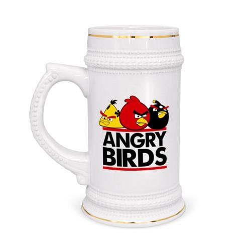 Пивная кружка Angry birds
