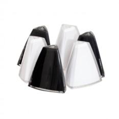 Набор из 6 солонок треугольной формы