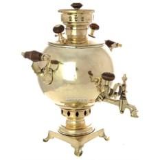 Угольный самовар на 3 литра конца XIX века