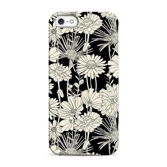 Чехол Flowers для телефона iPhone 5, 5S, SE