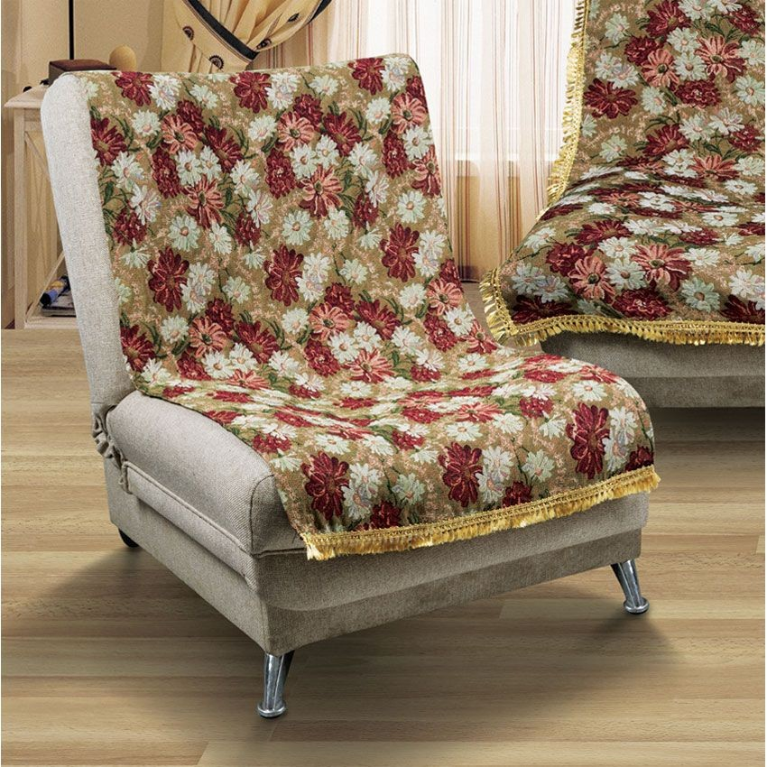 Набор накидок на кресло Маргаритки