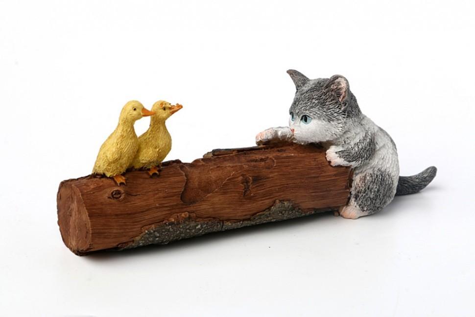 Фигурка Кошка и две утки