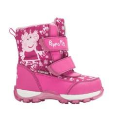 Сноубутсы на липучке Peppa Pig