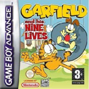 Игра для Game Boy Advance: Гарфилд и его 9 жизней