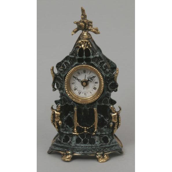 Часы из бронзы Virtus  «С амурчиками»