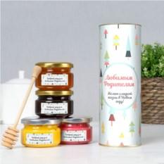 Подарочный мед «Для любимых родителей»