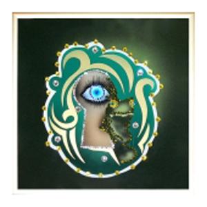 Картина с кристаллами Swarovski «Оберег»