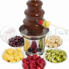 Шоколадный фонтан Chocolate Fountain 3 яруса
