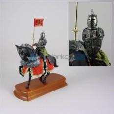Статуэтка Конный красный рыцарь