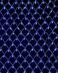 Электрогирлянда Сеть, 160 синих LED ламп