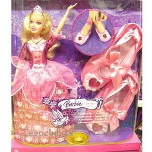 Барби Золушка с бальными туфельками