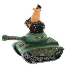 Декоративная фигурка Генерал в танке