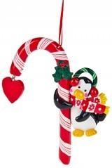 Новогодний сувенир Пингвинятка с конфетой