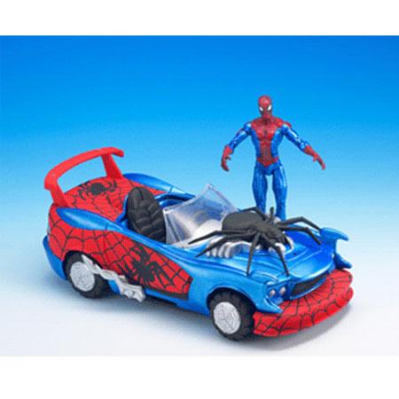 Машинка Человека-Паука с фигуркой