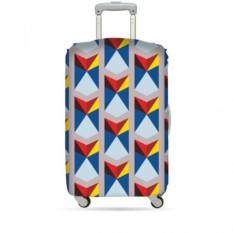 Чехол для чемодана LOQI Geomitric Triangle М