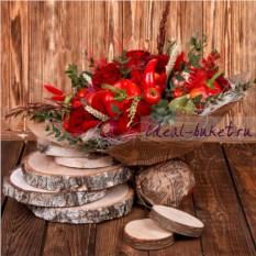 Букет из овощей и фруктов Мулен Руж