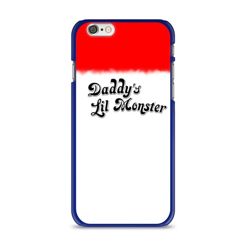 Чехол для Apple iPhone 6 soft-touch Daddy's lil monster