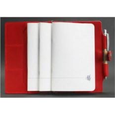 Кожаный софт-бук Коралл Blanknote