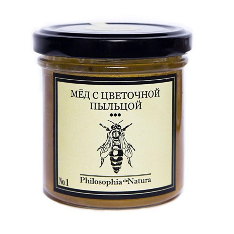 Фермерский крем-мед с цветочной пыльцой