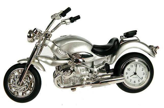 Настольные часы-термометр Мотоцикл