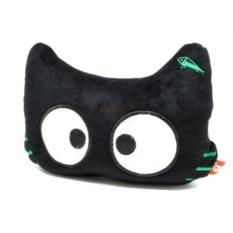 Подушка под голову Кот со светящимися глазами