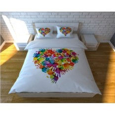 Комплект постельного белья Ручное сердце