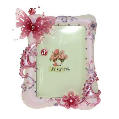 Фоторамка «Розовая бабочка»
