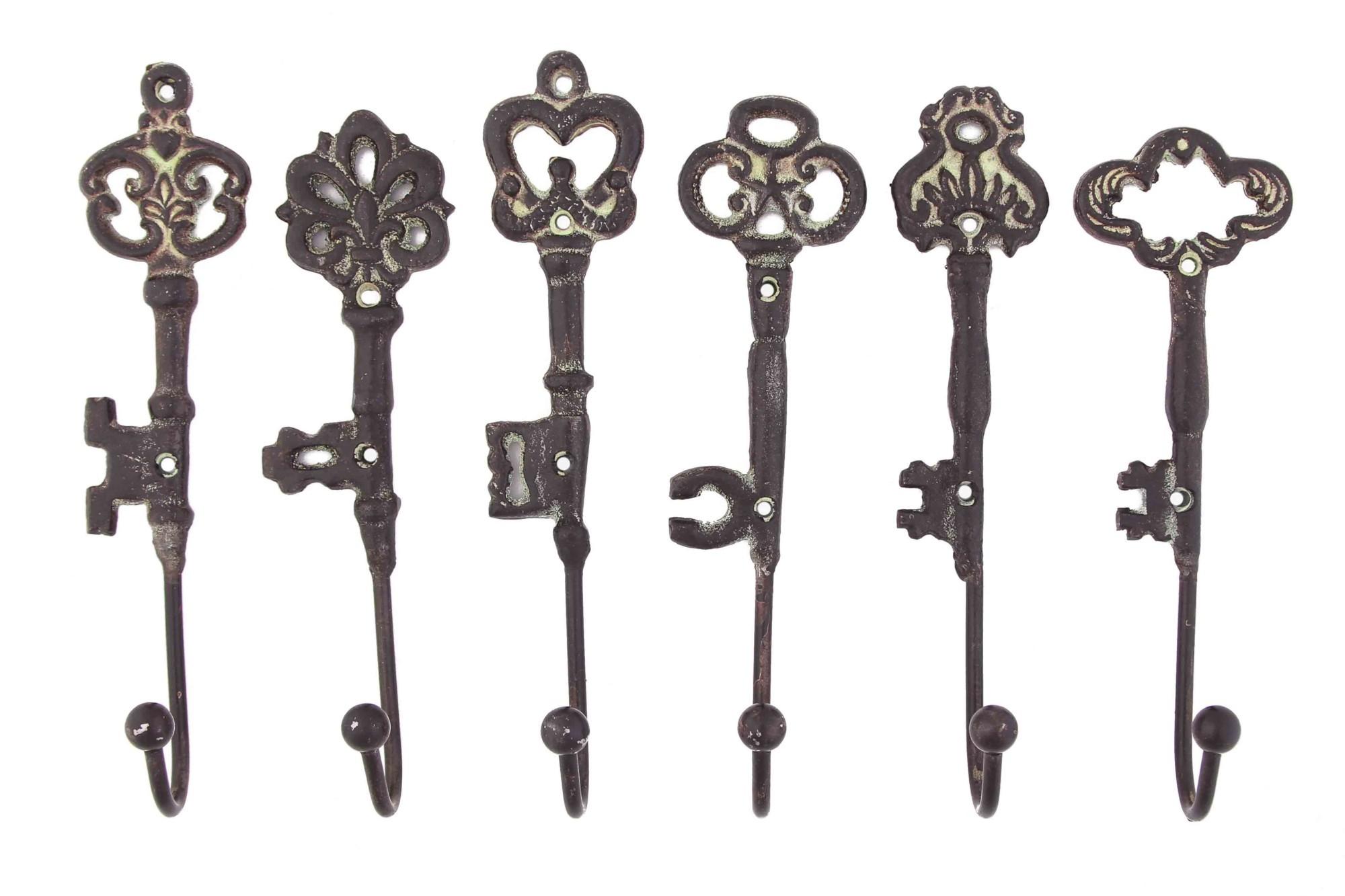 Набор вешалок под старину Старинные ключи
