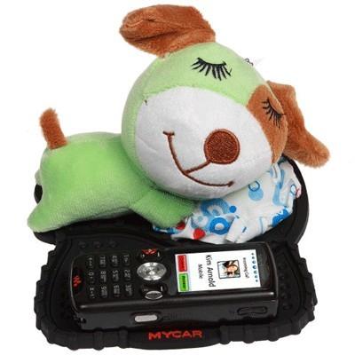 Коврик для мобильника с игрушкой «Спящая собачка»