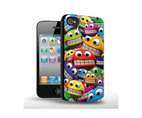 Панель для iPhone «Смайлики»