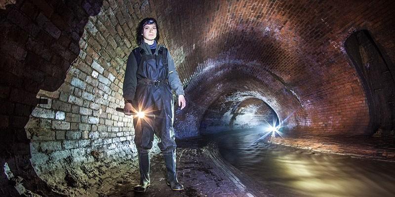 Историческая подземная экскурсия по реке Неглинка
