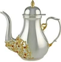 Серебряный кофейник Золотая осень