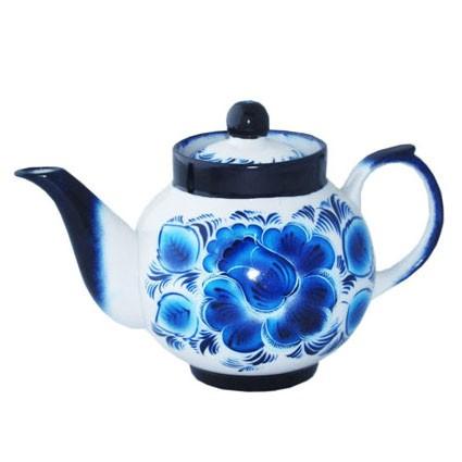 Чайник заварочный «Гжель» для самовара