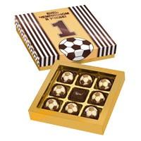 Набор шоколадных конфет Будь чемпионом в учебе