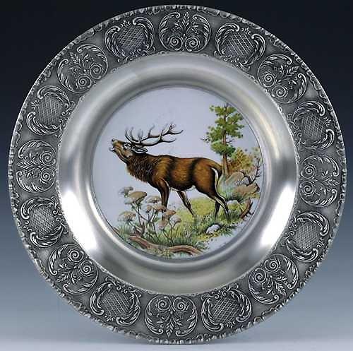 Настенная тарелка Лось Artina