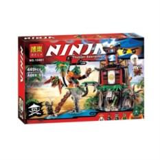 Конструктор Bela Ninja Остров тигриных вдов