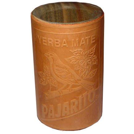 Калебас-стакан в коже Pajarito