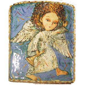 Ангел на голубом небе