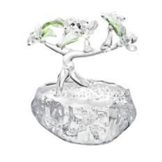 Хрустальная статуэтка Бонсай — карликовое дерево