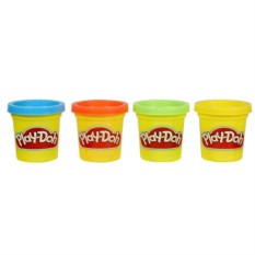 Набор из 4 баночек пластилина Hasbro Play-Doh