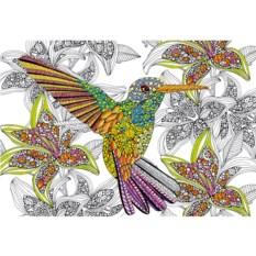 Пазл-раскраска Educa Колибри (300 деталей)