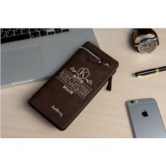 Именной кошелек-портмоне Браун